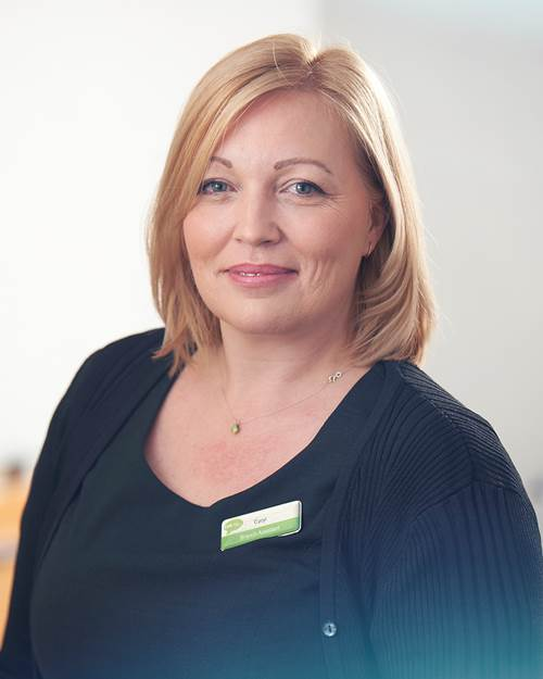 Tipton & Coseley Branch Assistant, Caryl Bridgewater