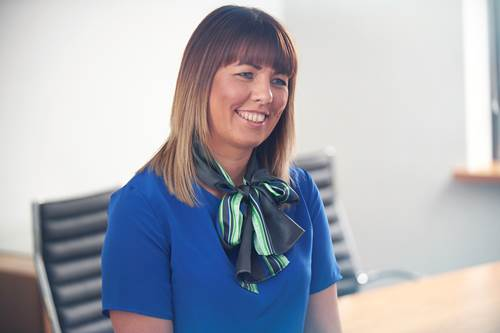 Tipton & Coseley Business Development Administrator, Faye Sheldon