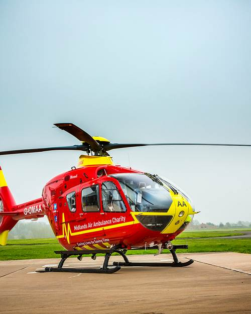 Midlands Air Ambulance G OMAA